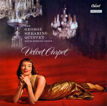 George Shearing Velvet Carpet Capitol T 720