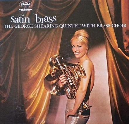 George Shearing Satin Brass Capitol T 1326