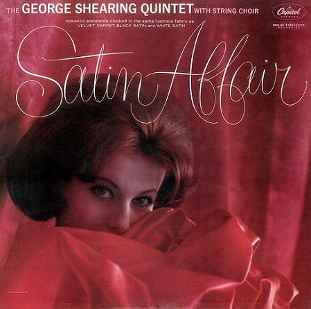 George Shearing Satin Affair Capitol T 1628