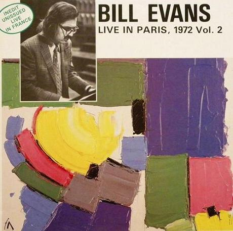 Bill Evans Live In Paris, 1972 Vol.2 Esoldun FC 114