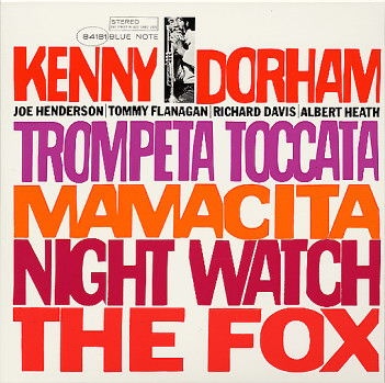 Kenny Dorham Trompeta Toccata Blue Note BST 84181