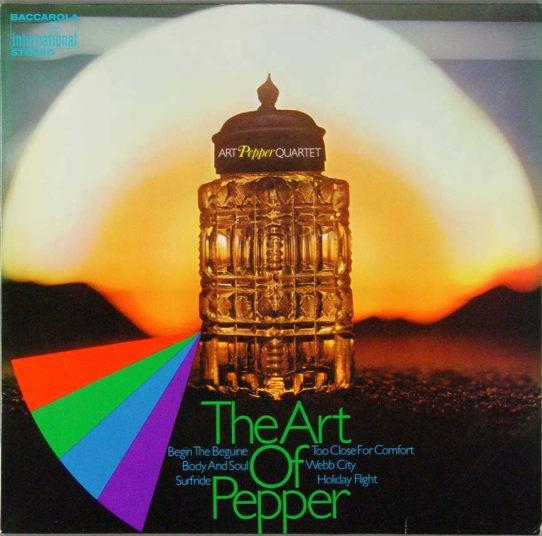 Art Pepper The Art Of Pepper Baccarola 80 116 ZT