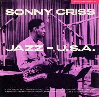 Sonny Criss Jazz U.S.A. Imperial LP 9006