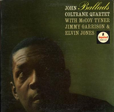 John Coltrane Ballads Impulse AS 32