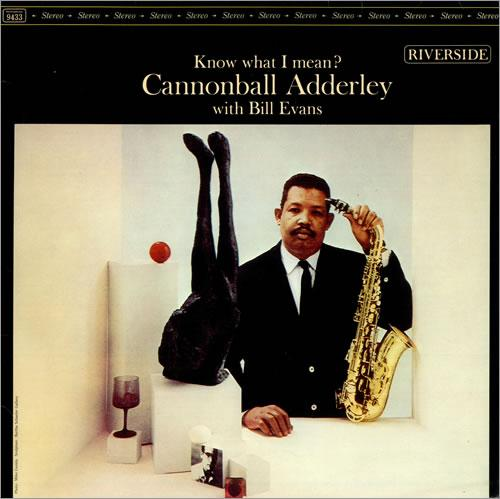 Cannonball adderley Know What I Mean Riverside RLP 9433