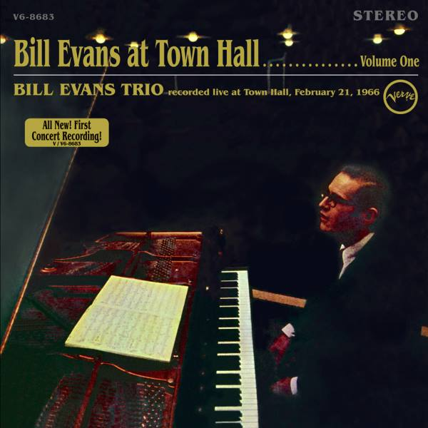 Bill Evans At Town Hall Vol.1 Verve V6-8683