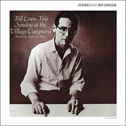 Bill Evans Sunday At The Village Vanguard Riverside RLP 9376
