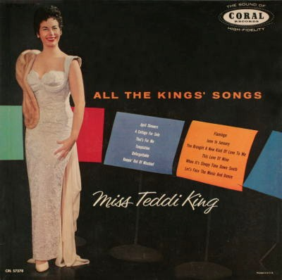 Teddi King All The Kings Songs Coral CRL 57278