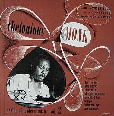 Thelonious Monk Genius Of Modern Music Vol.2 Blue Note BLP 5009