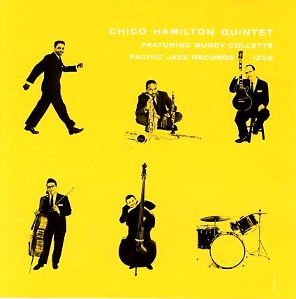 Chico Hamilton Quintet Pacific Jazz PJ 1209