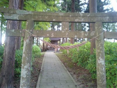本丸の八幡神社
