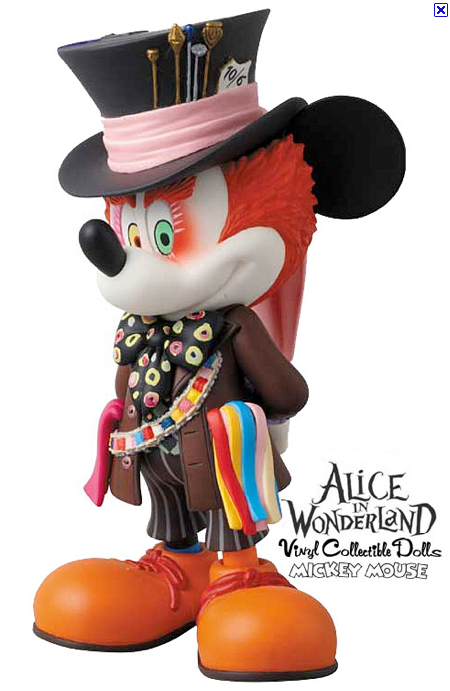 VCD Mickey Mouse as Mad Hatter