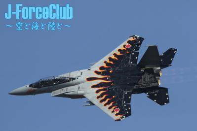 101219 新田原航空祭 23SQのF-15記念塗装機-01