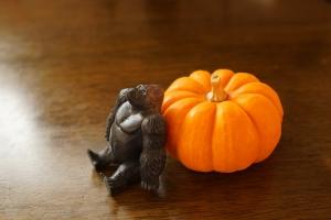 かぼちゃとゴリラ