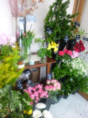 花や店内縮小