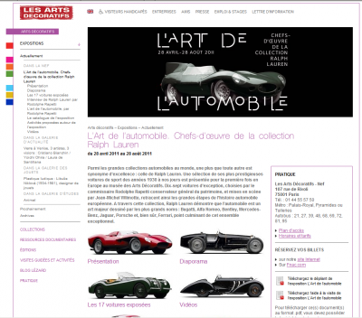 L` Art de l`automobile