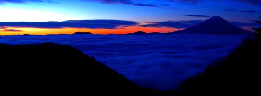 2011-11-13-水ヶ森の夜明け