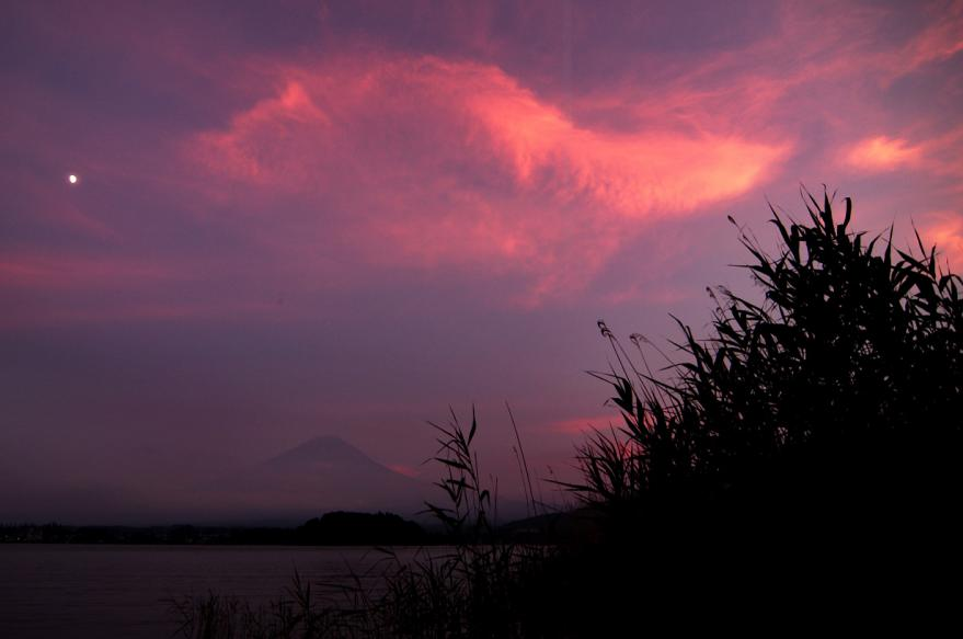 @夕景の河口湖(12)s
