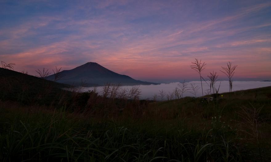 2012 08 25山中湖日の出前4s