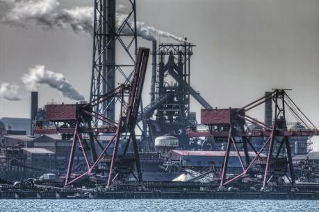 新日本製鐵君津製鐵所の高炉