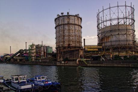 大阪市大正区の中山製鋼所