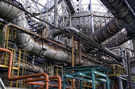 中山製鋼所のパイプ