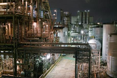 DP2x京浜工業地帯_川崎_千鳥町の夜景
