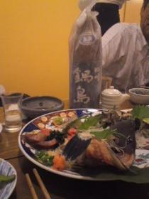刺身と鍋島