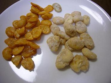 チェリー豆とウニ豆.JPG