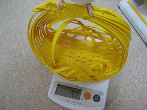 体重測定②