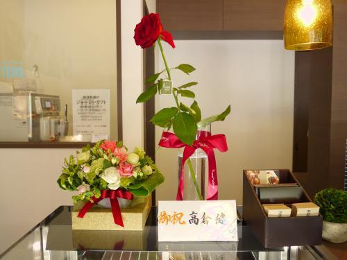 高倉健さんからの花