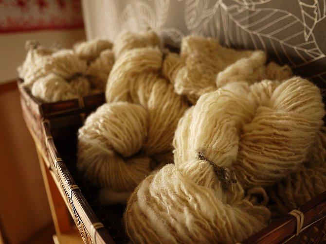 紡がれた糸