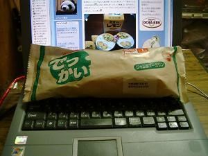 ヤマザキでっかいパン1