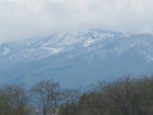 山は雪だんべ~6