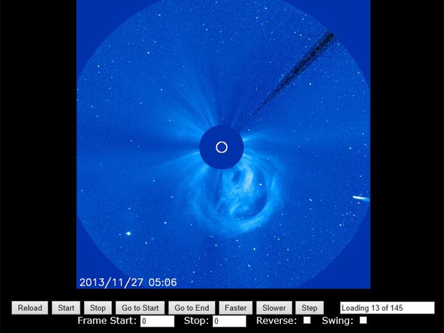 アイソン彗星 27日