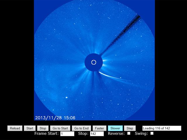アイソン彗星 28日