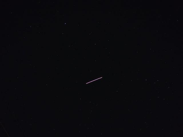 ISSが見えた