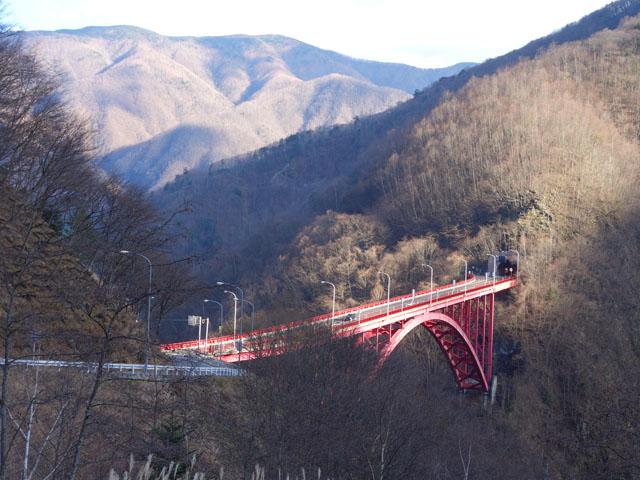 雁坂トンネル、埼玉側