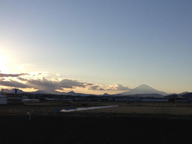 富士が綺麗