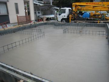 基礎工事 コンクリート