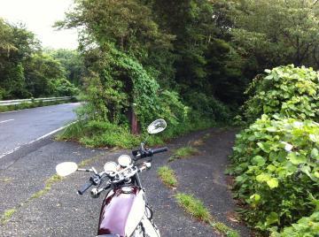 バイク 分かれ道
