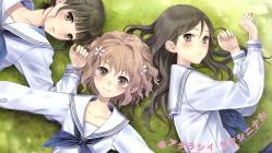 169moe 178042 hanasaku_iroha kishida_mel matsumae_ohana oshimizu_nako seifuku tsurugi_minko