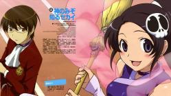 169moe 164043 elsea_de_lute_irma kami_nomi_zo_shiru_sekai katsuragi_keima komori_hideto thighhighs