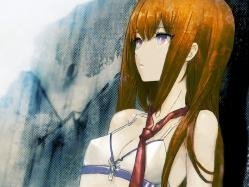43moe 184558 bikini huke makise_kurisu steins;gate swimsuits
