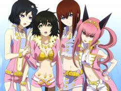 43moe 186304 cosplay faris_nyanyan makise_kurisu sakai_kyuuta shiina_mayuri steins;gate the_idolm@ster trap urushibara_luka