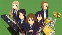 169moe 187507 akiyama_mio guitar hirasawa_yui k-on! kotobuki_tsumugi nakano_azusa pantyhose seifuku tainaka_ritsu