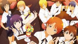 169moe 178041 adachi_shingo inami_mahiru satou_jun shirafuji_kyouko souma_hiroomi takanashi_souta taneshima_poplar todoroki_yachiyo waitress working!! yamada_aoi