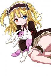 moe 200141 boku_wa_tomodachi_ga_sukunai garter hasegawa_kobato heterochromia lolita_fashion transparent_png