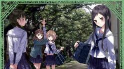 moe 205226 hanasaku_iroha kishida_mel matsumae_ohana oshimizu_nako seifuku thighhighs tsurugi_minko wakura_yuina