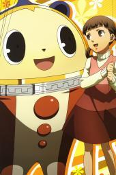 yande.re 209794 doujima_nanako kuma_(persona_4) megaten nagasaku_tomokatsu persona persona_4 stick_poster